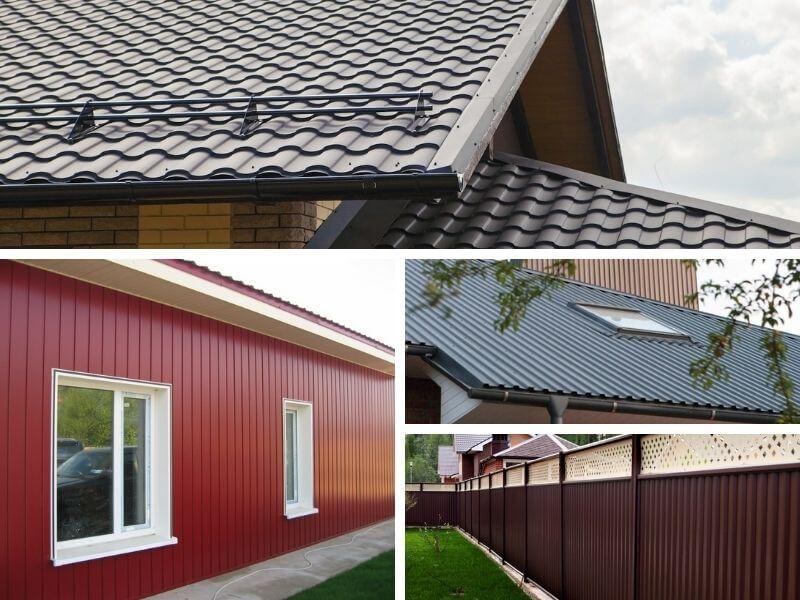 Профнастил Гранд Лайн для крыши, забора и обшивки фасадов купить в Калуге