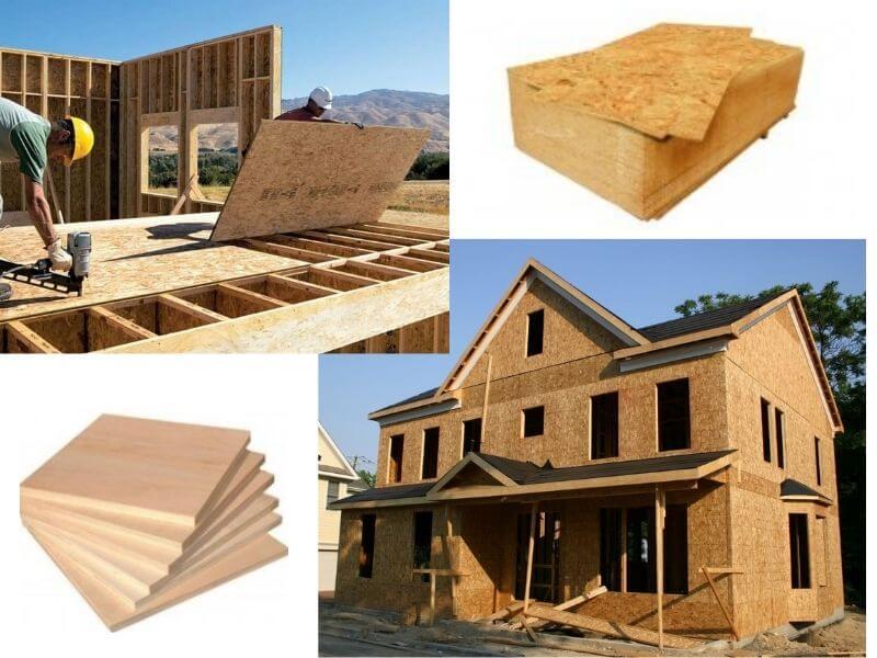 OSB 3 плита для несущих конструкций в местах значительной влажности