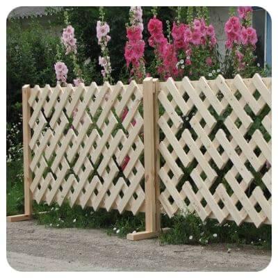 Декоративный забор для двора