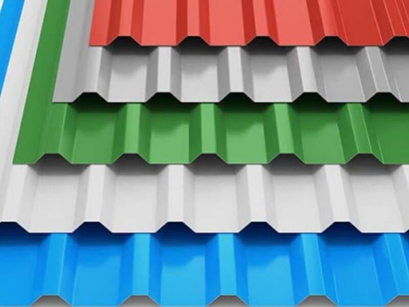 Серый, синий, красный, зеленый профнастил C8A
