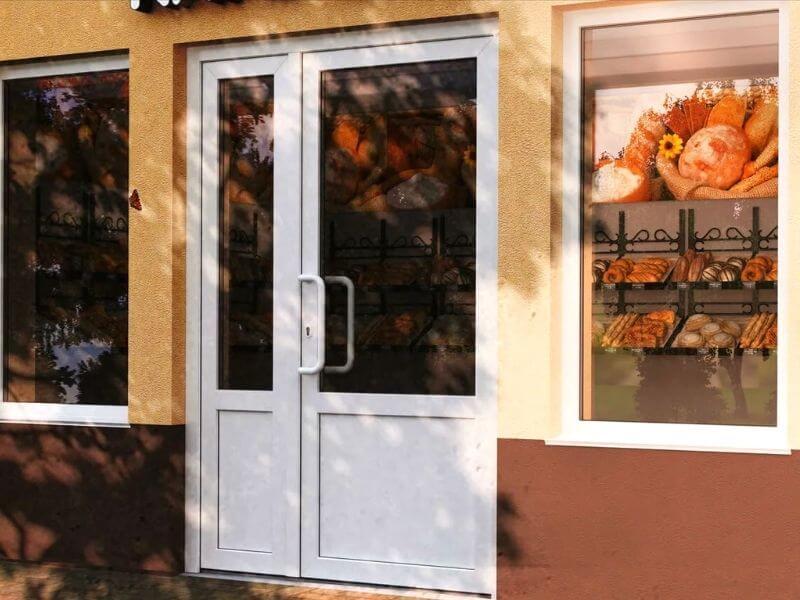 Входные двери ПВХ купить в Калуге