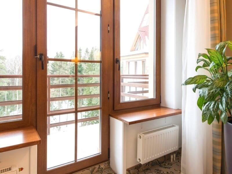 Балконные двери ПВХ на заказ в Калуге