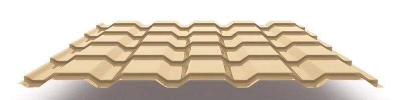 Толщина листа металлочерепицы