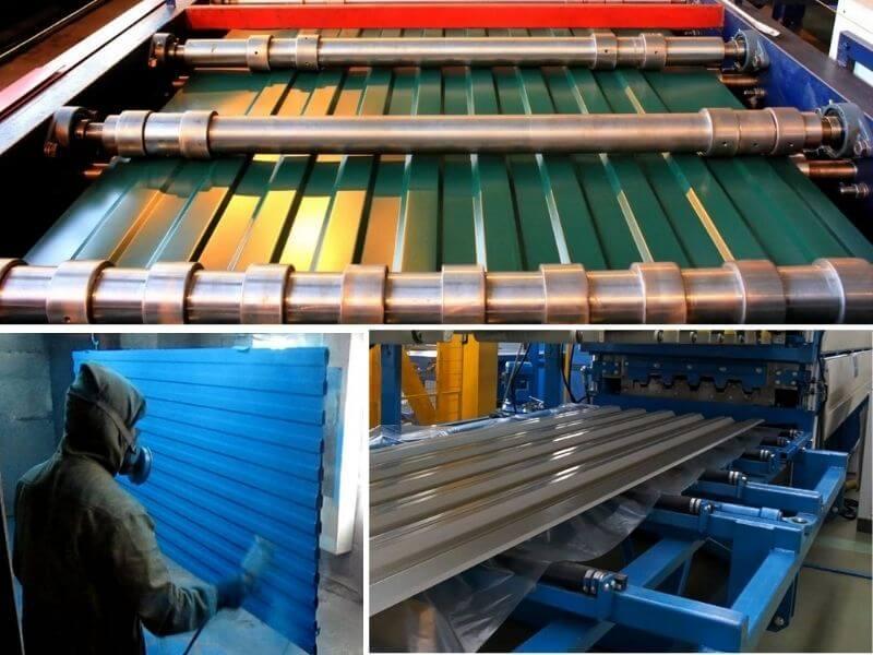 профнастил завод производство