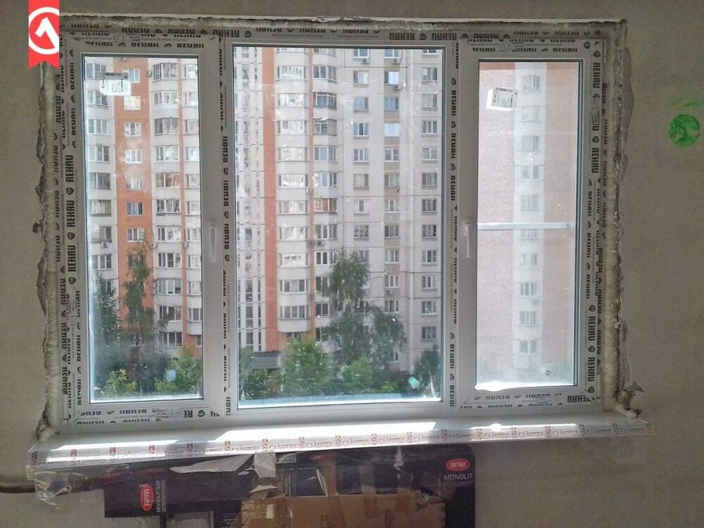 Окна Rehau установка в Калуге