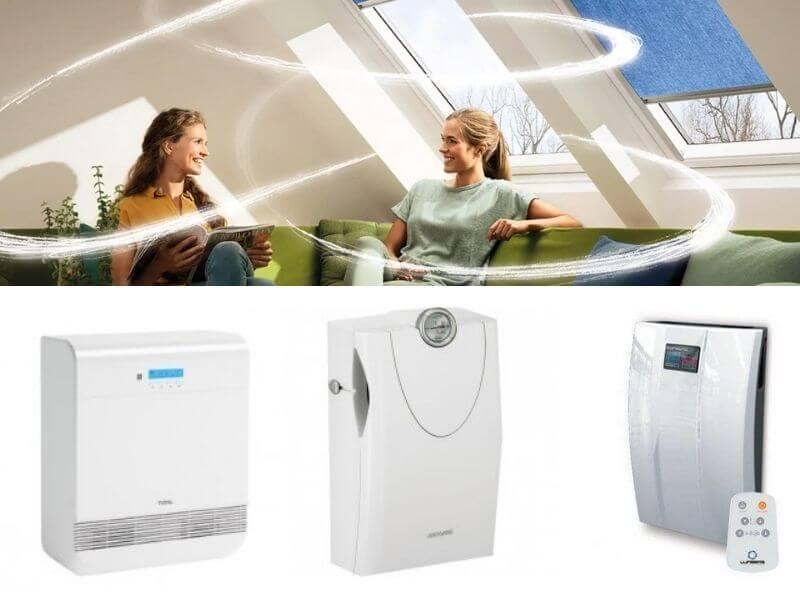 Системы приточной вентиляции в доме